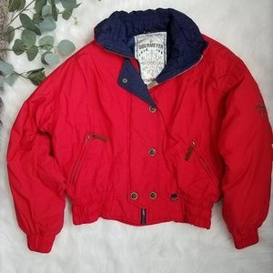 Vintage OBERMEYER Red Ski Jacket 8